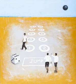 Małgorzata Rukszan, Let's jump, 2018