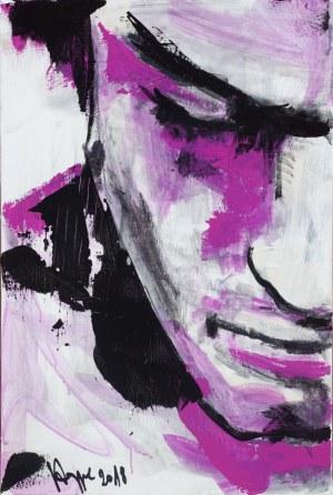 Maciej Hoppe, Purple Rain, 2018