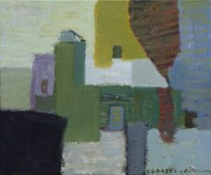 Łukasz Breitenbach, Kompozycja z kościołem, 2018