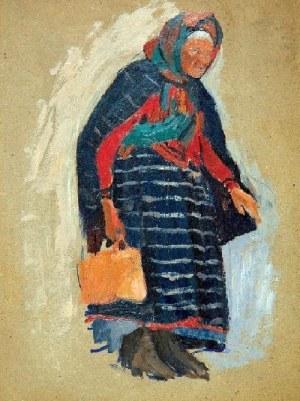 Stanisław Czajkowski (1878 – 1954), Stara wieśniaczka z Wojszyna