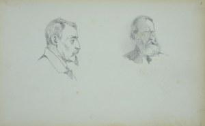 Stanisław Chlebowski (1835 – 1884), Dwie głowy męskie