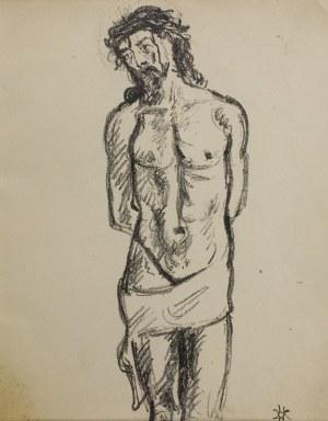 Wlastimil Hofman (1881 – 1970), Chrystus przy słupie, 1928