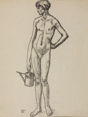 "Wlastimil Hofman (1881 – 1970), Fragment tryptyku ""VITA SOMNIUM BREVIS"", 1928"