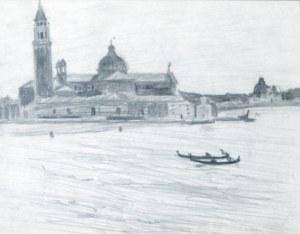 Stanisław Kamocki (1875 – 1944), Widok na kościół San Giorgio Maggiore w Wenecji