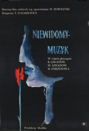 Roman Opałka (1931–2011), Plakat filmowy Niewidomy muzyk, 1961