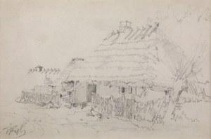 Tadeusz Rybkowski (1848-1926), Wiejska chata