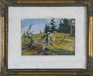 Wojciech Kossak (1856-1942), Ścięte pnie