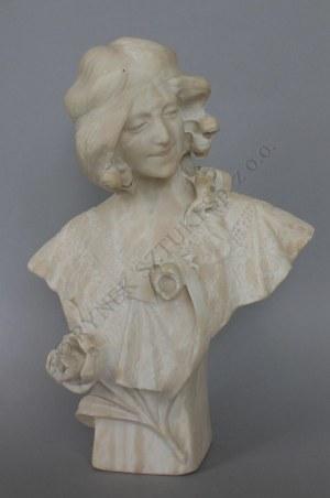 """R. Ciampolini """"Giorgia""""-popiersie, (Włochy, I poł.XX w.)"""