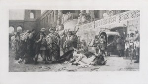 Henryk SIEMIRADZKI (1843-1902), Dirce chrześcijańska [Neron w cyrku], 1899