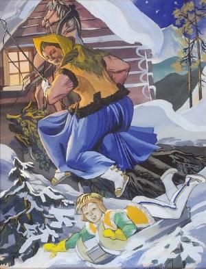 Zofia STRYJEŃSKA (1894-1976), W zimowy dzień, ok. 1939