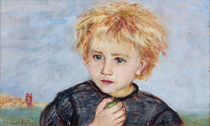 Wlastimil HOFMAN (1881-1970), Główka dziecka, 1921