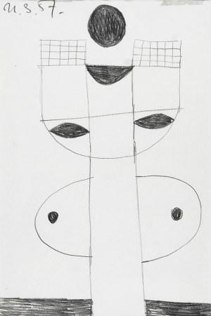 Zdzisław BEKSIŃSKI (1929-2005), Kompozycja, 1957