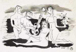 Otto AXER (1906-1983), Koncert naturalny, 1973