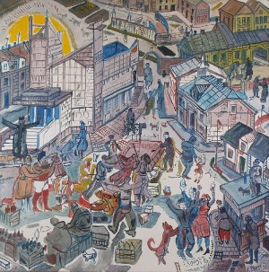 Edward DWURNIK (ur. 1943), Sopot, 1989