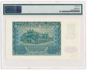 50 złotych 1940 -A- PMG 64