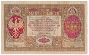1000 marek 1916 Generał - niezły i naturalny