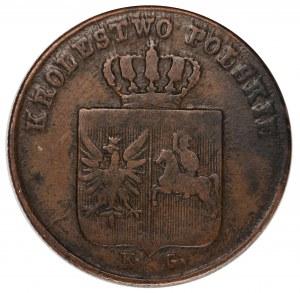 Powstanie Listopadowe 3 grosze 1831 łapy orła proste