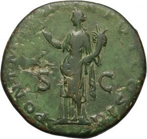 Cesarstwo Rzymskie, Hadrian 117-138, sesterc, Rzym