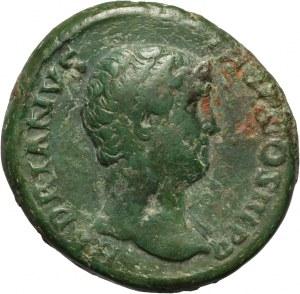 Cesarstwo Rzymskie, Hadrian 117-138, as, Rzym