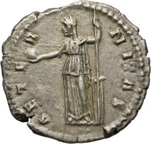 Cesarstwo Rzymskie, Faustyna I (żona Antoniusza Piusa), denar, Rzym