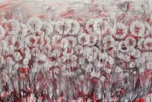 Mariola Świgulska, W czerwieni słońca, z cyklu Zauroczona dmuchawcami, 2017