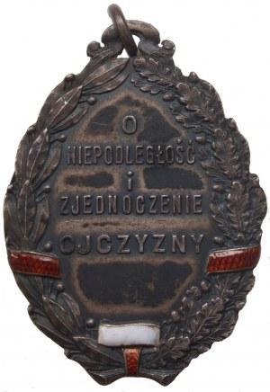 Legion Puławski - rzadka i piękna odznaka