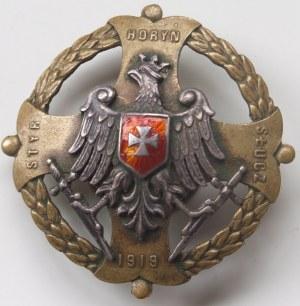 Odznaka ZA WOŁYŃ Horyń Styr Słucz 1919