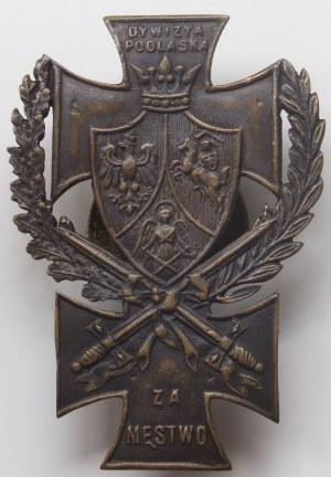 Odznaka pamiątkowa Dywizja Podlaska - Za Męstwo