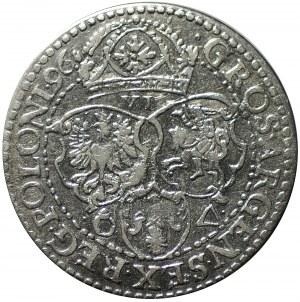 szóstak, 1596, Malbork, małe popiersie króla