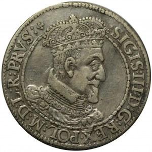 ort 1616, Gdańsk, odmiana portretu z krótką kryzą