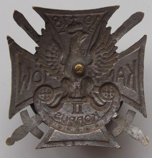 Odznaka II Korpus Wschodni - Kaniów