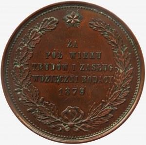 Józef Ignacy Kraszewski, medal autorstwa Malinowskiego 1879 r.