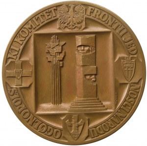 Medal autorstwa W. Kowalika na 550-lecie Bitwy pod Grunwaldem 1960