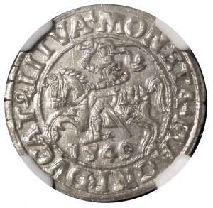 Półgrosz 1549, Wilno