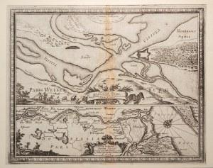 CYPEL MĄTOWSKI. Plan umocnień na Cyplu Mątowskim w 1656 r. (Delinea ...