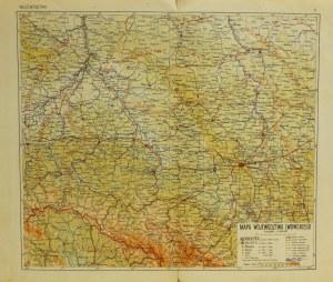 LWÓW; mapa województwa lwowskiego; autorzy: Instytut Kartograficzny  ...