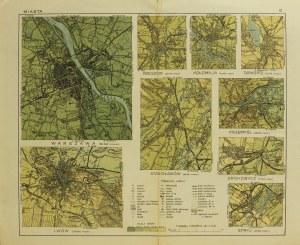 LWÓW; mapy miast kresowych (Lwowa, Kołomyji, Tarnopola, Drohobycza , ...