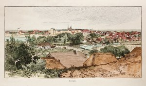 TARNOPOL (ukr. Тернопіль). Panorama miasta, anonim (sygn. RK) ...