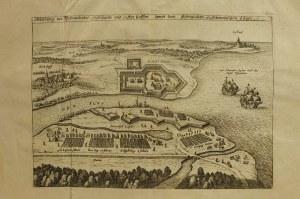 PEENEMÜNDE; Ogólny widok z lotu ptaka przedstawiający wojska Gustaw ...