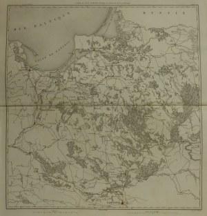 FRYDLAND (mapa Prus Wschodnich i północnego Mazowsza); mapa teatru d ...