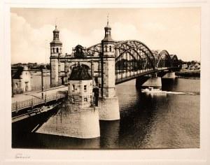 TYLŻA (ros. Советск). Most królowej Luizy, ok. 1925; fot. cz. ...
