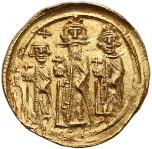 Herakliusz, Herakliusz Konstantyn i Herakleonas (610-641), Solid - I