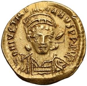 Justynian I (527-565), Solid - popiersie z włócznią
