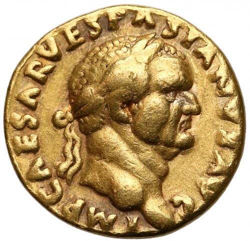 Wespazjan (69-79), Aureus - Pax - rzadki