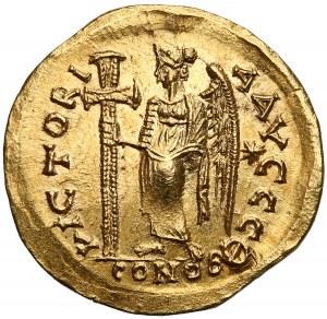 Zenon (cesarz wschodu, drugie panowanie 476-491), Solid - Wiktoria