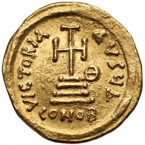 Herakliusz i Herakliusz Konstantyn (613-641), Solid - rzadkie oznaczenie