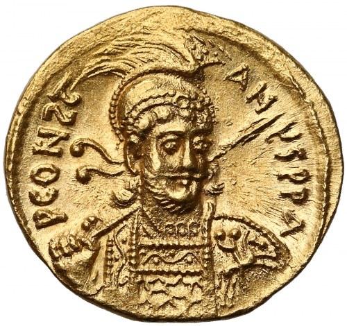 Konstantyn IV (668-685), Solid - wspaniały portret i stan