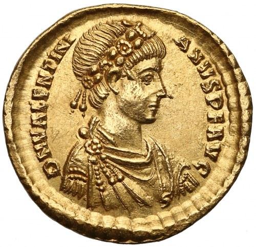 Walentynian II (375-392), Solid - personifikacja Konstantynopola