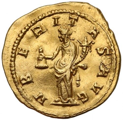 Trajan Decjusz (249-251), Aureus - bardzo ładny