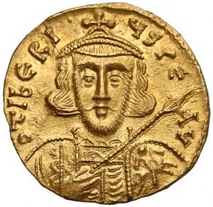 Tyberiusz III (698-705), Solid - ładny portret